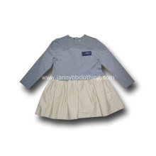 girls long sleeve school dress